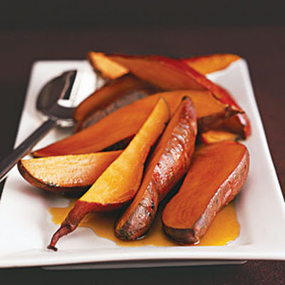 Vanilla Sweet Potatoes