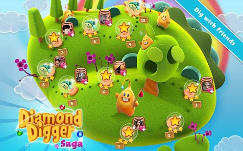 Free Download Diamond Digger Saga APK for Samsung