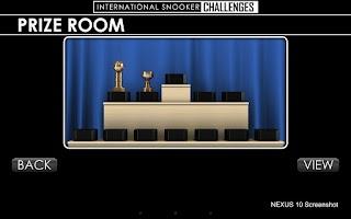 Screenshot of IS Snooker Challenges