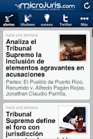 Screenshot of Microjuris al Día Puerto Rico