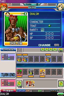 SNK Vs Capcom Card Fighters DS