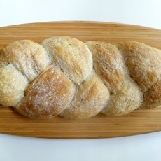 Bread Baking: Three Doughs Braided into One Loaf