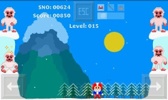 Screenshot of Snowival - Yeti Snowball Fight