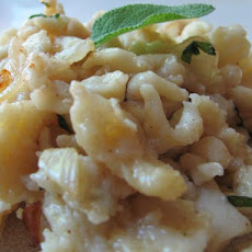Spaetzle in Sage Brown Butter