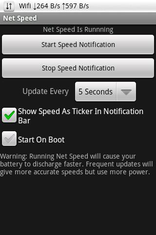 Net Speed