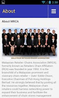 Screenshot of MRCA