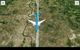 Screenshot of Plane Finder 3D