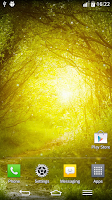 Screenshot of Green Nature Live Wallpaper