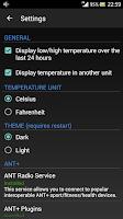 Screenshot of AmbiTemp Free