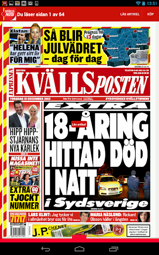KvP Tidning - screenshot