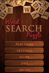 Word Search Puzzle - Resized - screenshot