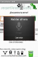 Screenshot of Consultorio Cobol