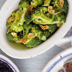 Broccoli With Garlic & Lemon