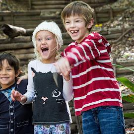 Genuine Laughter by Lou Plummer - Babies & Children Children Candids ( austin, park, texas,  )