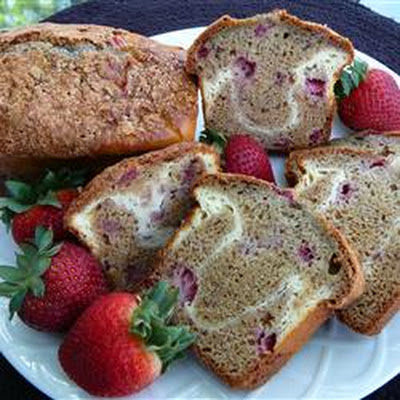 Strawberry Ribbon Bread