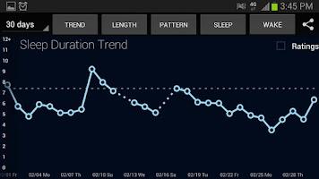 Screenshot of SleepBot - Sleep Cycle Alarm