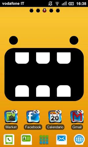 Crazy Icons GO Launcher EX