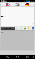 Screenshot of Talking Translator-Light Theme