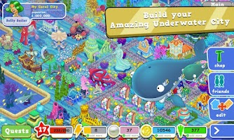 Screenshot of Coral City FUN addicting game