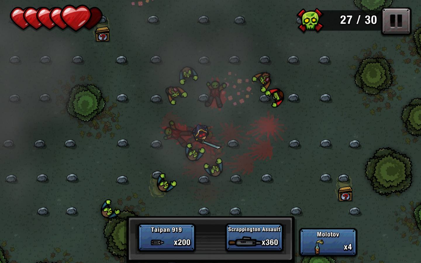Zombie Scrapper Screenshot 1