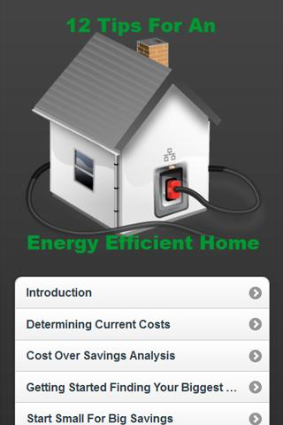 Tips For Energy Efficient Home