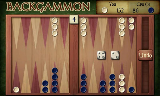 backgammon-free for android screenshot