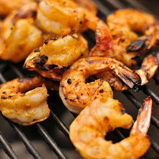 Grilled Garlic-Lime Shrimp