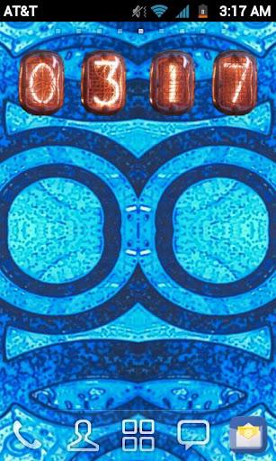 Blue Textured Basic GO Theme