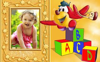 Screenshot of Insta Kids Frames