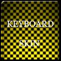 Yellow Carbon Keyboard Skin