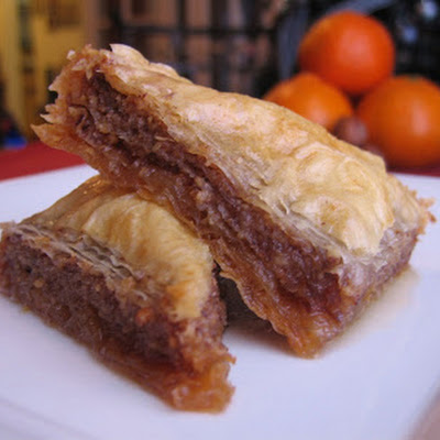 Orange-Hazelnut Baklava