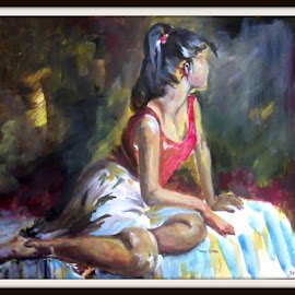 by Shyamasree Majumdar - Painting All Painting