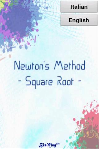 Newton's Method - Square Root