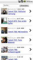 Screenshot of Tatort Heute Fan's - APP