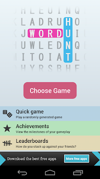Word Hunt APK screenshot thumbnail 1