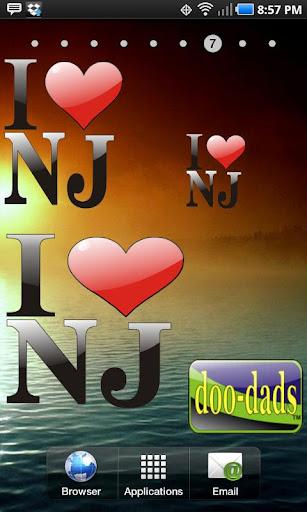 I Love NJ doo-dad