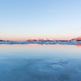 Arctic blue by Benny Høynes - Landscapes Waterscapes ( water, ice, frost, arctic, norway, colours )