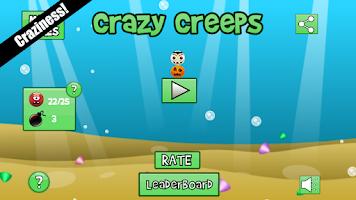 Screenshot of Crazy Creeps