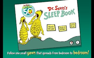 Screenshot of Dr. Seuss's Sleep Book