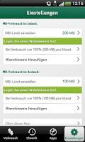 Screenshot of E-Plus DataCheck
