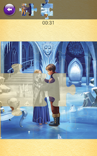 The Snow Queen Jigsaw - screenshot