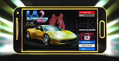 Screenshot of 3D LA Supercars 2