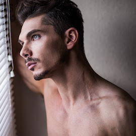 by Vincent Rowley - People Portraits of Men