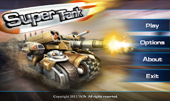 Screenshot of Super Tank 3D