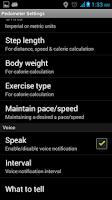 Screenshot of Smart Pedometer