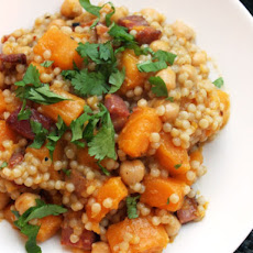 Couscous with Crispy Pancetta and Butternut Squash