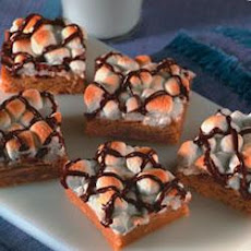 Peanut Butter Marshmallow Bars