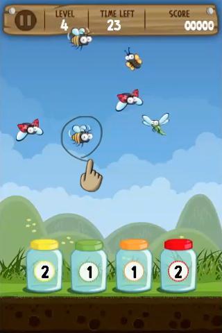 【免費休閒App】Catch the Bugs-APP點子