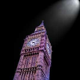 Big Ben by Jeanne Knoch - Digital Art Places