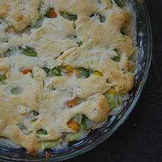 Easy Bisquick Chicken Pot Pie